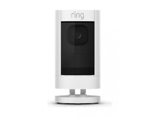 كاميرا المراقبة رينج ستيك آب السلكية - أبيض