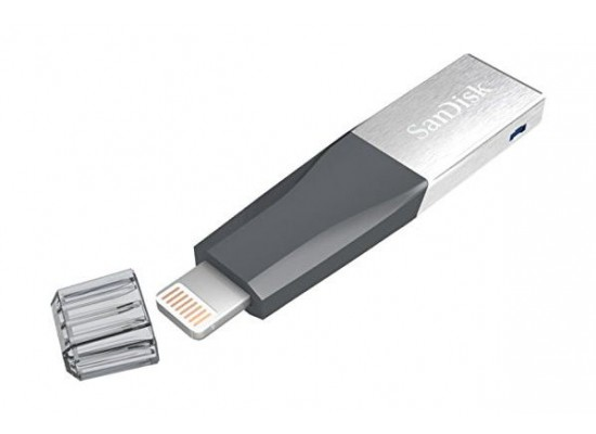 Sandisk Mini Ixpand 40N032GGN6NN 32GB Flash Drive for Apple top view