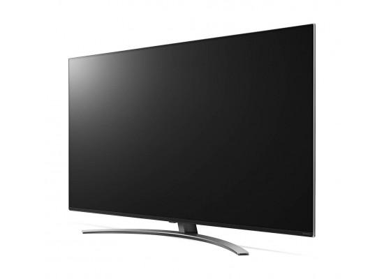 تلفزيون إل جي الذكي 4كي فائق الوضوح إل إي دي 65 بوصة بتقنية نانو سل - 65SM8600PVA