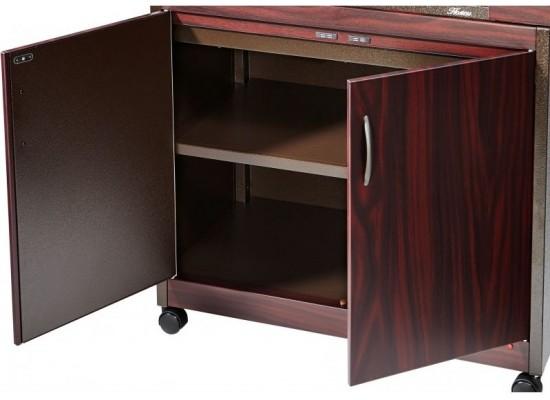 عربة تدفئة الطعام من ونسا (TY-9001) - خشب الماهوغوني