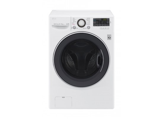LG 14kg Washer With 8kg Dryer Front Load Washing Machine - WC1408WH