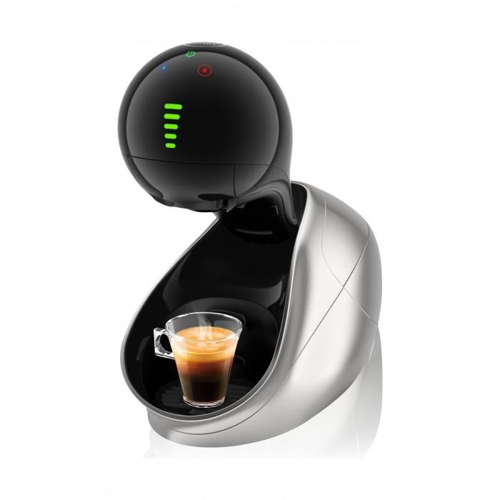 صانعة القهوة موفنزا بقوة ١٥٠٠ واط وسعة ١ لتر من دولتشي غوستو نسكافيه – فضي
