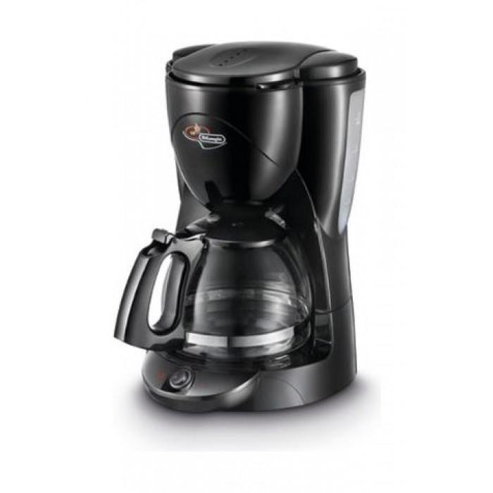 صانعة القهوة بقوة ١٠٠٠ واط وسعة ١٠ أكواب من ديلونجي – أسود – ICM2B