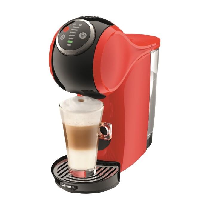 ماكينة القهوة نسكافيه جينيو اس بلس من دولتشي جوستو -أحمر