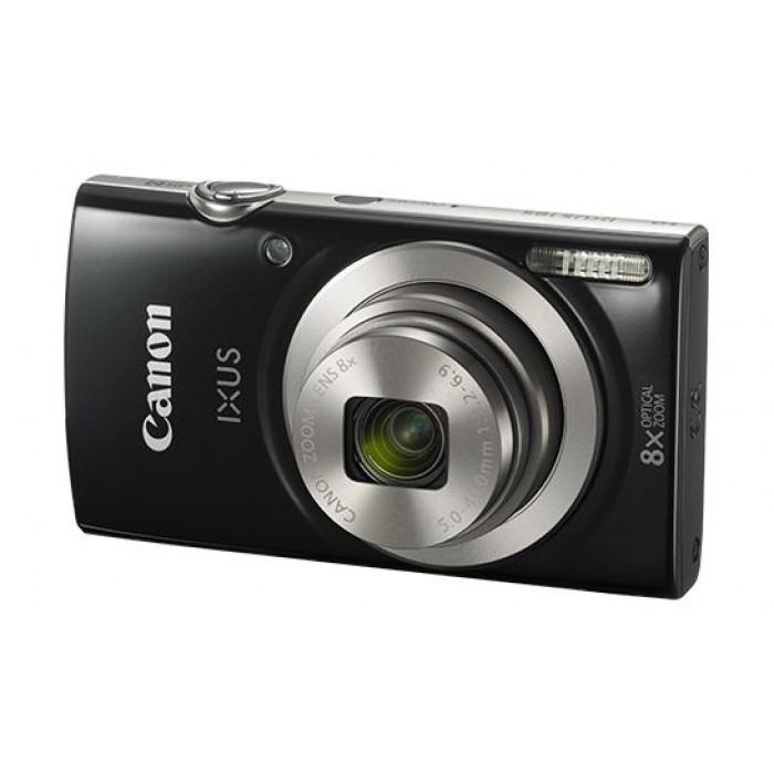 كاميرا كانون اكس 185، دقة 20 ميجابكسل، شاشة إل سي دي حجم 2.7 بوصة، تقريب بصري 8 مرات – أسود