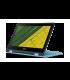 لابتوب آيسر سبين١ سيليرون N3350 المتحول - رام ٢ جيجابايت - ذاكرة ٣٢ جيجابايت إس دي دي - ١١,٦ بوصة - أزرق