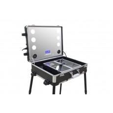حقيبة المكياج المحمولة بعجلات للجر من ماسترز بروفيشينال – أسود (PB7080)