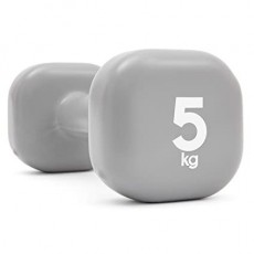 دمبل بوزن ثابت ٥ كيلو جرام من ريبوك – رمادي - (RAWT-11155)