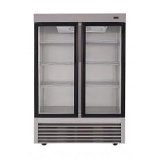 ثلاجة ونسا بباب مزدوج شفاف - ٣٤ قدم - ستانليس ستيل (2GDAS)