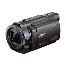 كامير الفيديو سوني فائقة الوضوح بتقنية ٤ كي وخاصية الواي فاي ـ ٢٠.٦ ميجا بكسل ـ FDR-AX33