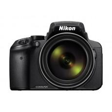 كاميرا نيكون كوولبيكس بي٩٠٠ الرقمية - ١٦ ميجا بكسل ـ وعدسة تكبير بصري ٨٣ × - أسود