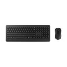 لوحة مفاتيح وماوس لاسلكي للديسك توب ٩٠٠ من مايكروسوفت – أسود - (PT3-00018)