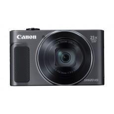 الكاميرا الرقمية كانون باورشوت إس إكس٦٢٠ إتش إس بدقة ٢٠,٢ ميجابكسل وتقنية الواي فاي - أسود (SX620 HS)