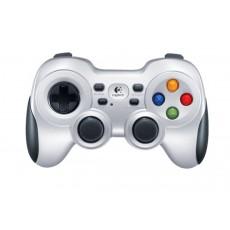 يد التحكم للألعاب من لوجيتك لاسلكية للكمبيوتر - فضي