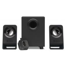 مكبر الصوت لوجيتك توزيع ٢.١ سلكي بقوة ٧ واط - أسود