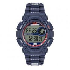 Fila 45mm Men Digital Rubber Sports Watch (38312001) - Dark Blue