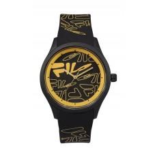 Fila 40mm Unisex Analogue Rubber Sports Watch (38129201) - Black