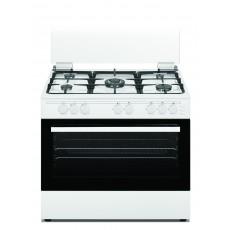 طباخ الغاز وانسا القائم ٥ شعلات بحجم ٦٠x٩٠ سم – أبيض  (WCT9502124W)
