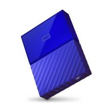 القرص الصلب الخارجي ماي باسبورت سعة ٤ تيرا بايت ومنفذ يو إس بي ٣,٠ من ويسترن ديجيتال - أزرق