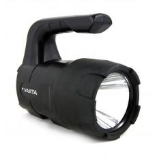 Varta  3W LED Indestructible Beam Lantern (18750101421) - Black