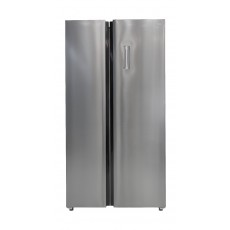 TCL Side by Side Refrigerator 17 CFT (TRF-520WEX) - Stainless Steel