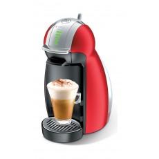 صانعة القهوة جينيو٢ من دولتشي جوستو نسكافيه – أحمر (Combo2x68Gxa) + ٨ كبسولات مجانا