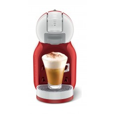 صانعة القهوة مينيمي من دولتشي جوستو نسكافيه - أحمر (Combo2x68gXA) + ٤ كبسولات مجانا