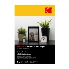 Kodak A6 Glossy Photo Paper 240g 50 Sheets