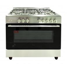 Terim 5 Burner Stainless Steel Gas Cooker - 965SFGGX