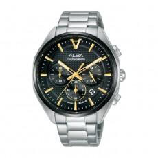 ساعة كرونوغراف حجم 42 ملم للرجال من ألبا (AT3G79X1)