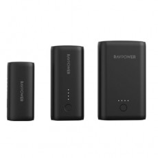 RAVPower Portable Chargers Combo (RP-PB181) - Black