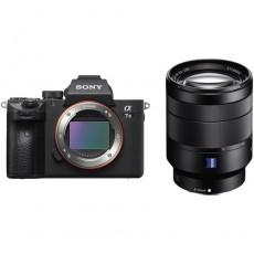 كاميرا سوني ألفا ايه7 III الرقمية بدون مرآة مع عدسة 28 - 70 ملم - أسود