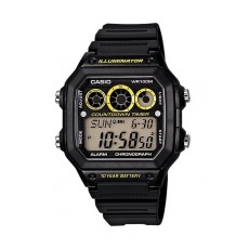 Casio 42mm Gent's Digital Resin Sports Watch - (AE-1300WH-1AVDF)