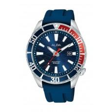 Alba 43mm Gents Analog Fashion silicon Watch Sport - (AG8K37X1)