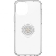 Otterbox iPhone 12 Pro Max Otter Case with Pop Symmetry Grip - Clear