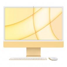 """Apple iMac M1 24""""Desktop orange mouse & keyboard buy in xcite kuwait"""