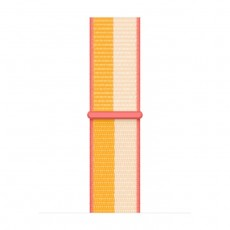 Apple Watch 41mm Sport Loop colorful Maize/White yellow pink nylon strap buy in xcite kuwait