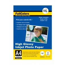 Fullcolors Glossy A4 180Gsm Photo Paper - 20 Sheets