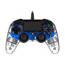Bigben Nacon PS4 Wired Compact Controller - Blue