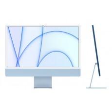 ديسك توب الكل في واحد آي ماك معالج ام1 رام 8 جيجابايت، 256 اس اس دي، 24 بوصة شاشة ريتينا 4.5كي ومستشعر Touch ID من آبل (2021) – أزرق
