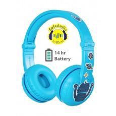 BuddyPhones PLAY Wireless Headphone - Blue