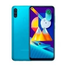 هاتف سامسونج جالكسي إم 11 6.4 بوصة 32 جيجابايت - أزرق