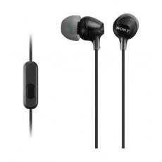 Sony Earphone With Mic (MDREX15AP) - Black