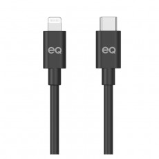 Type-C to Lightning 1M USB Cable Black Xcite buy in Kuwait