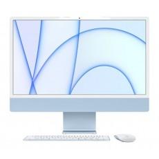 ديسك توب الكل في واحد آي ماك معالج ام1 رام 8 جيجابايت، 256 اس اس دي، 24 بوصة شاشة ريتينا 4.5كي من آبل (2021) – أزرق