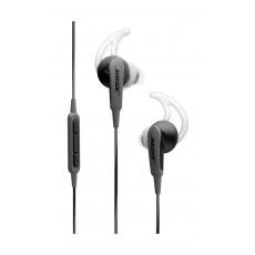 سماعة الأذن السلكية ساوند سبورت من بوس لأجهزة الأندرويد – أسود فحمي مع رمادي