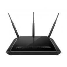 D-Link Dual Band Wireless AC1600 Gigabit ADSL2+/VDSL2 Modem Router (DSL-2888A) - Black