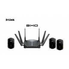 D-Link EXO AC3000 Smart Mesh Wi-Fi Router - Black