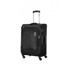حقيبة دونكان ناعمة بعجلات من أميريكان توريستر - ٥٥ سم - أسود (FL8X09901)