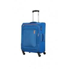 حقيبة دونكان ناعمة بعجلات من أميريكان توريستر - ٥٥ سم - أزرق (FL8X01901)